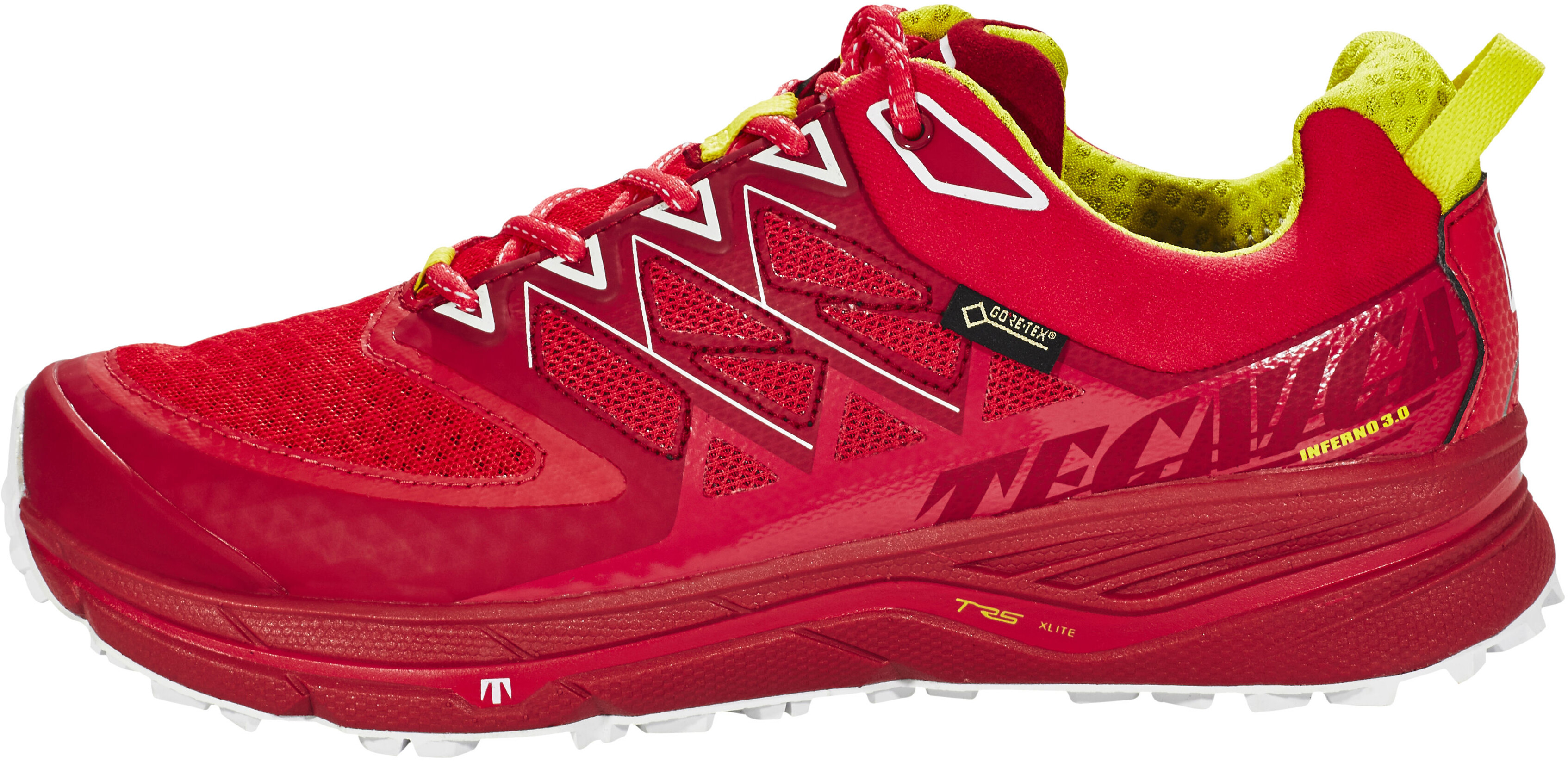 89512a07 Tecnica Inferno Xlite 3.0 GTX Buty do biegania Kobiety czerwony/biały